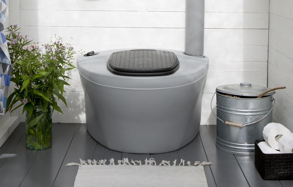 Хорошая замена туалетам с выгребной ямой