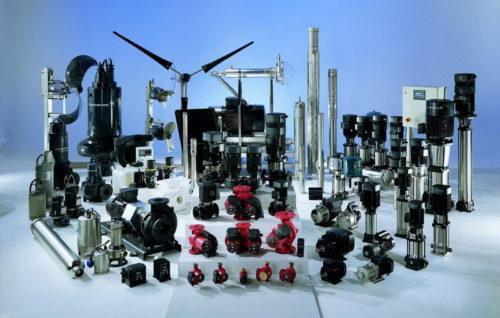 Классификация водяных насосов