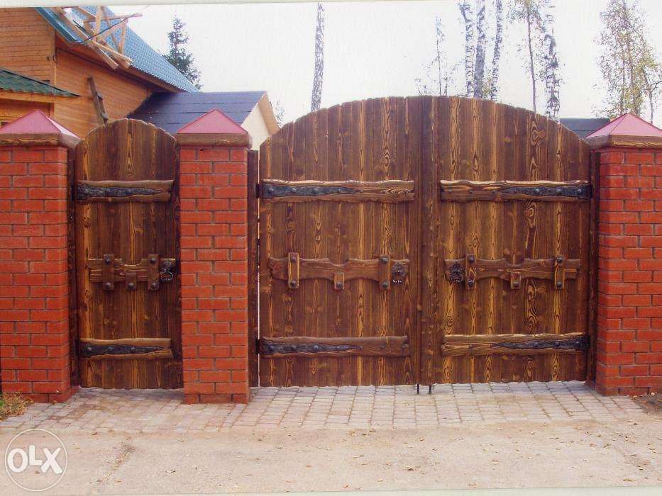 Вертикальные ворота