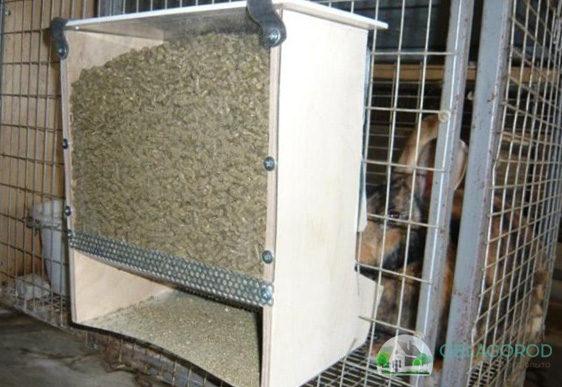 Кормушки должны быть изготовлены так, чтобы животные не могли в них влезть