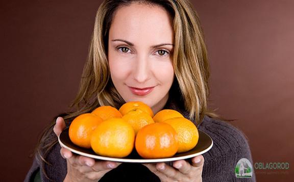 Вред мандаринов – аллергия и другие неприятности