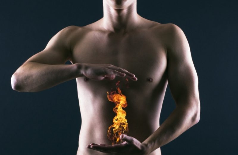 Возникновение изжоги