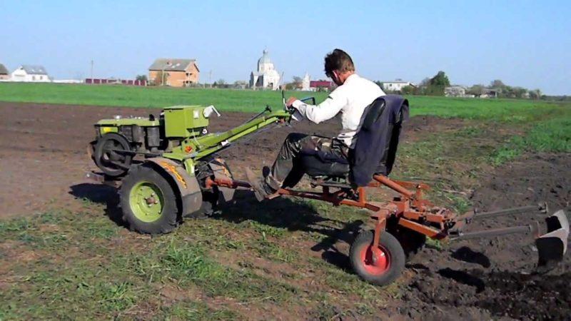 Технология посадки овоща при помощи мотоблока
