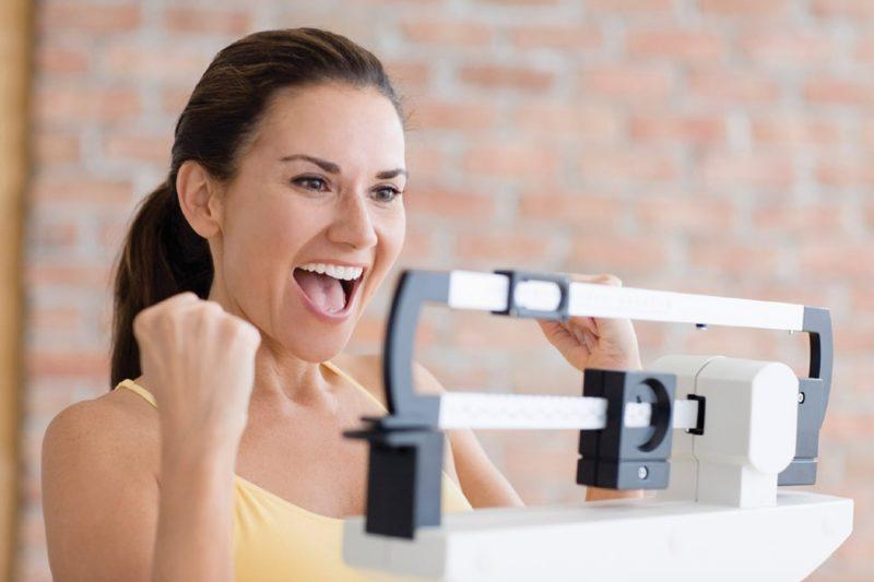Способствует похудению