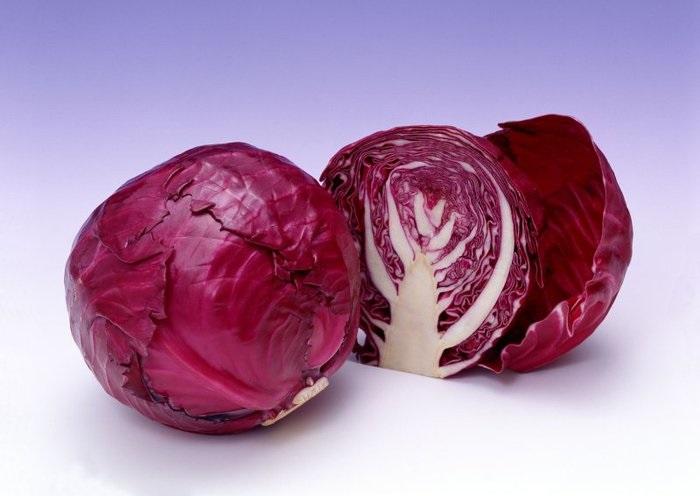 Особенности красной капусты
