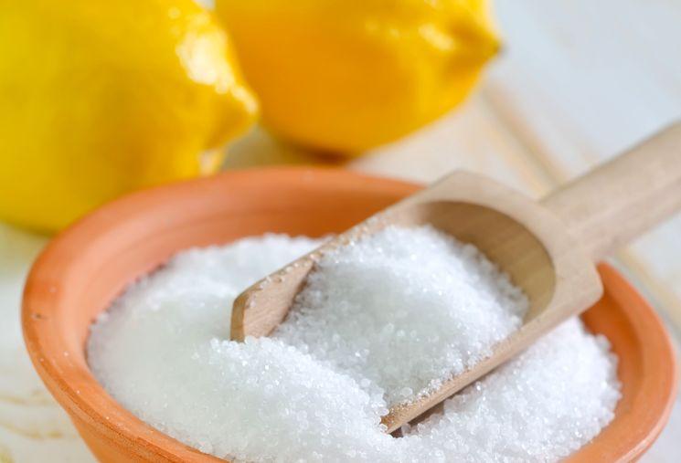 Можно использовать лимонную кислоту.