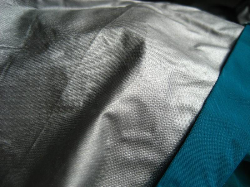 Ветхая ткань палатки