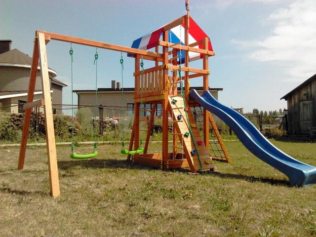 Комплексная детская площадка