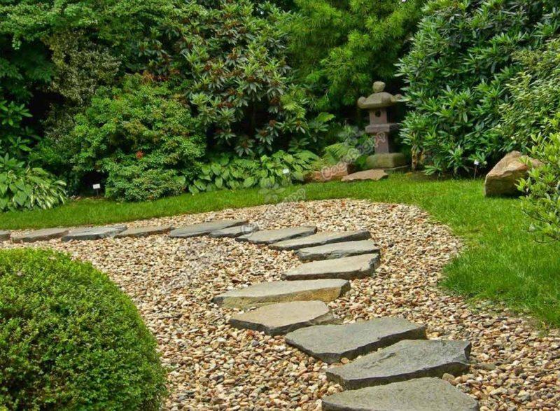 Как создать красивый путь по саду